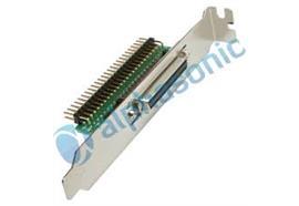 Adapter SCSI I/II int./ext. IDC50pin/D-