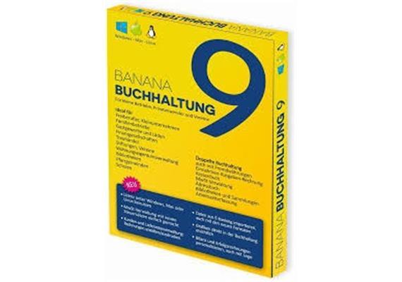 Banana Buchhaltung v9 Box D BAN9-CHD