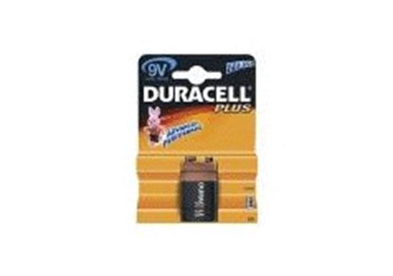 Batterie 9V 6LR61 Duracell Plus MN1604 Alkal. 1er