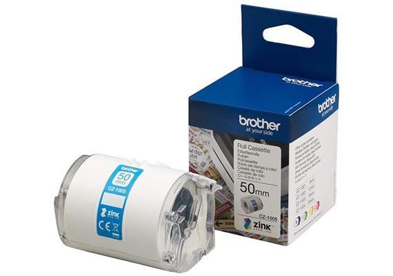 Brother CZ-1005 Etikettenrolle - 50mm x 5m