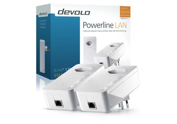 Devolo Powerline dLAN 1200+ Starter-Kit