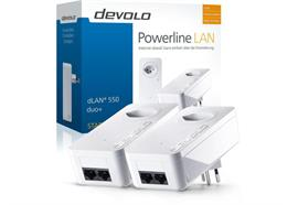 Devolo Powerline dLAN 550 duo+ Starter Kit