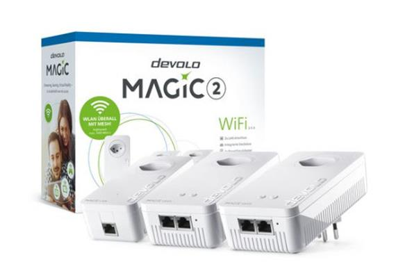 Devolo Powerline MAGIC 2 WIFI 2-1-3 Multiroom