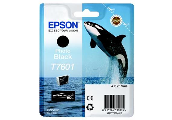 DKP Epson T7601 Tinte Black photo C13T76014010