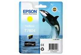 DKP Epson T7604 Tinte C13T76044010 Yellow