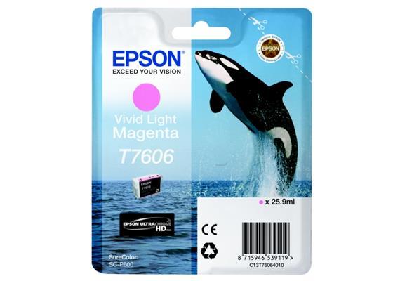 DKP Epson T7606 Tinte Magenta light C13T76064010