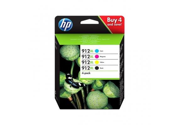 DKP HP 912XL 4er Pack (CMYK) High Yield