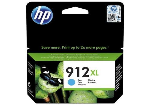 DKP HP 912XL ca. 825 Seiten Cyan