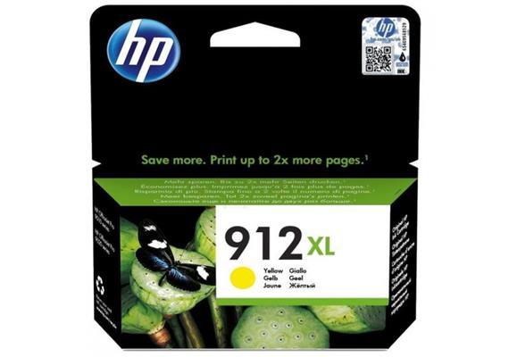 DKP HP 912XL ca. 825 Seiten Yellow