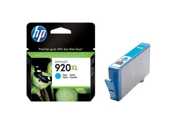 DKP HP 920XL ca. 700S. cyan CD972AE#BGX