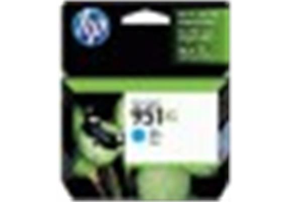 DKP HP 951XL ca. 1500S. cyan CN046AE