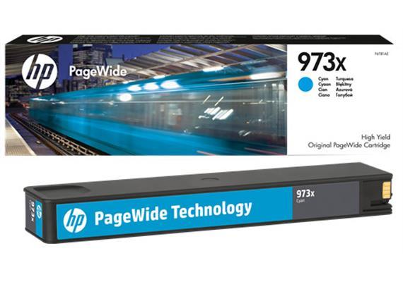 DKP HP 973X ca. 7'000 Seiten cyan