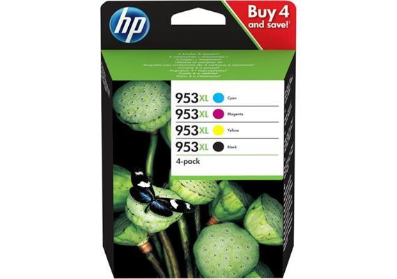 DKP HP Ink 953XL 4er Combo-ack CMYK