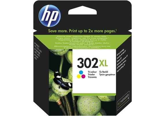 DKP HP Nr.302XL tricolor F6U67AE