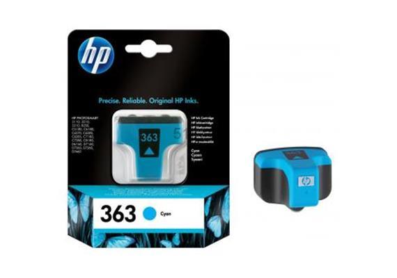 DKP HP Nr.363 cyan C8771EE