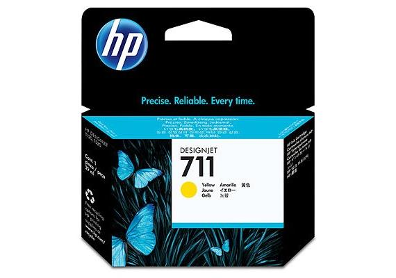 DKP HP Nr. 711 29ml yellow Ink Cartridge