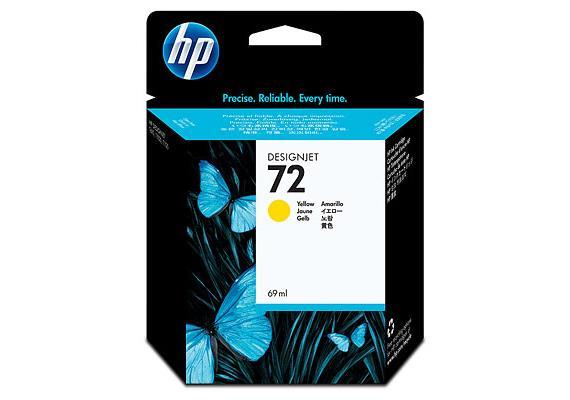 DKP HP Nr.72 69ml yel C9400A