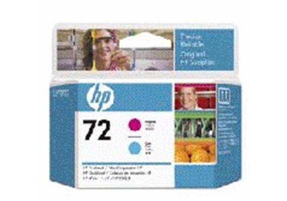 DKP HP Nr.72 Druckkopf mag u. cyan C9383A