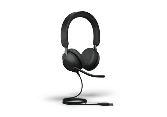 Headset Jabra Evolve2 40 Duo UC Schwarz USB-A