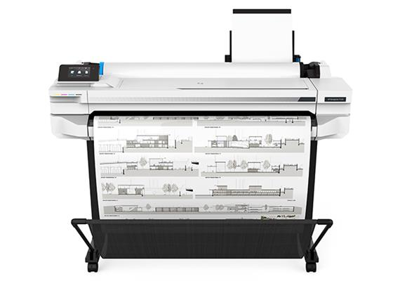 HP DesignJet T530 A1 Ink Color