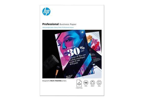 HP Fotopapier glänzend A3 180g 150 Blatt