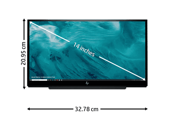 "HP Monitor 14"" EliteDisplay S14 USB-C"