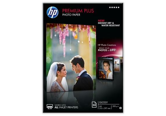 HP Premium Plus Photo Paper A4 50S. CR674A
