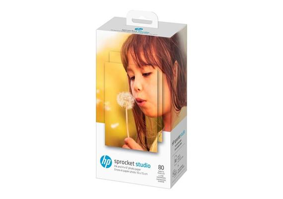 HP Sprocket 102 x 152mm Photo Paper and Cartridges