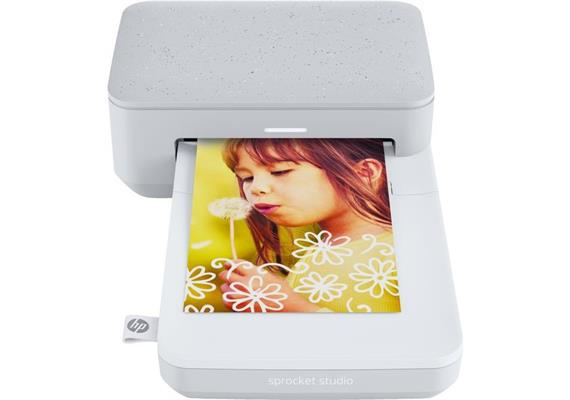 HP Sprocket Studio Snow Printer