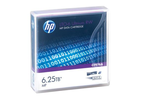 HP Tape LTO6 Ultrium 2.5TB/6.25TB C7976A