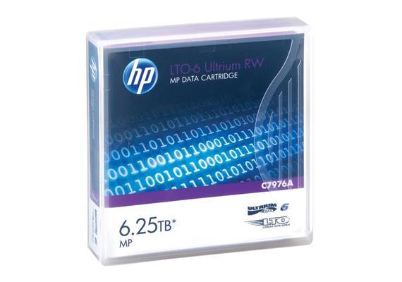 HPE Tape LTO6 Ultrium 2.5TB/6.25TB 20x