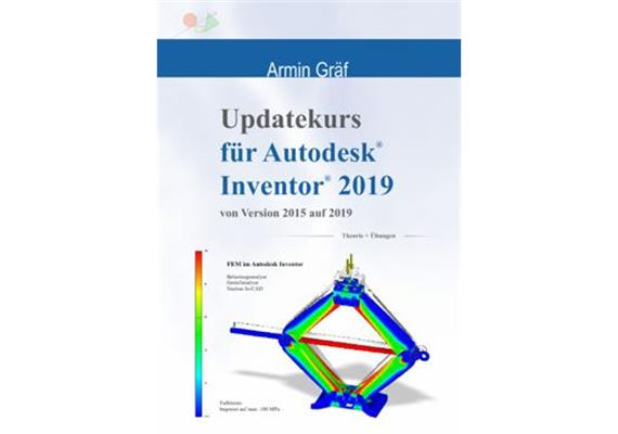 Inventor 2019 Updatekurs Trainingsbuch