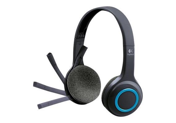 Kopfhörer Logitech Headset H600 Wireless USB/BT