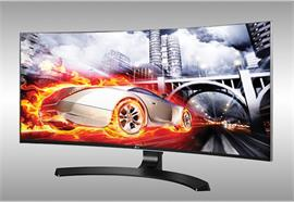 "LG Monitor 34"" 3440x1440 Curved 34CB88-B"