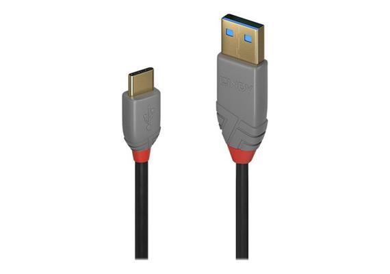 Lindy Anthra Line USB 2.0 USB/A-USB/C M-M 1m 36886