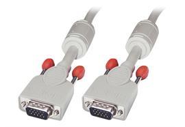 LINDY Video Cable HD15 VGA-VGA M-M 3m grau 36343