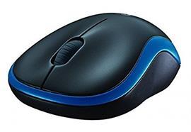 Logitech Mouse M185 blue USB 910-002239