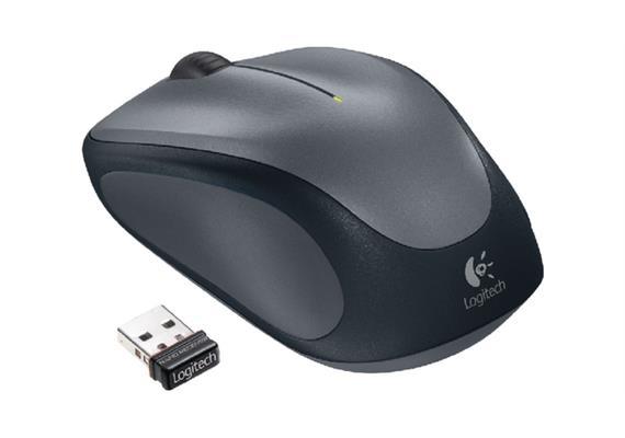 Logitech Mouse M235 Wireless grau
