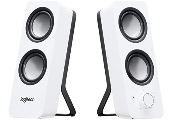 Logitech Z200 Speaker 2.0 Snow White