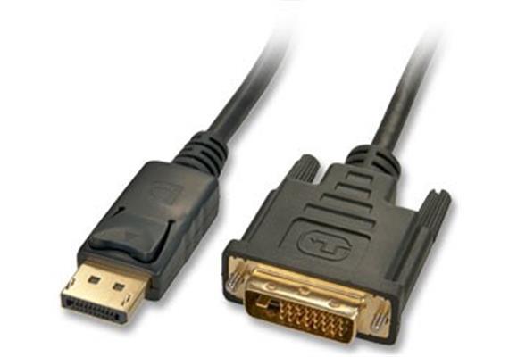 Monitorkabel Display Port an DVI Gerät, 1m 41490