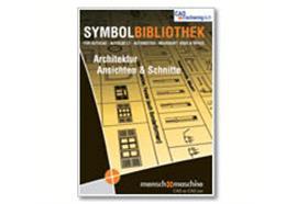 MuM Symbolbibliothek Architektur Ansichten zu ACAD