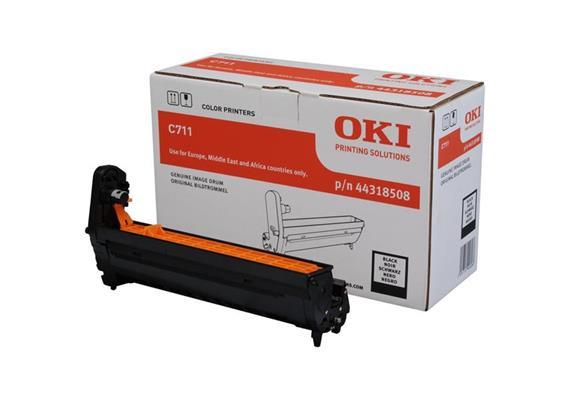 OKI Bildtrommel schwarz C711 44318508