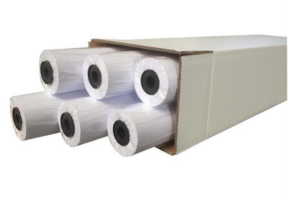 Plotterrolle QRP1030 610mm x 50m 90g Wasserfest
