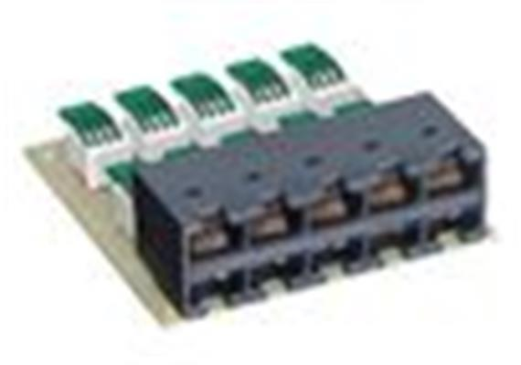 Rack 19 Anschlussmodul 10xRJ45/u R35116
