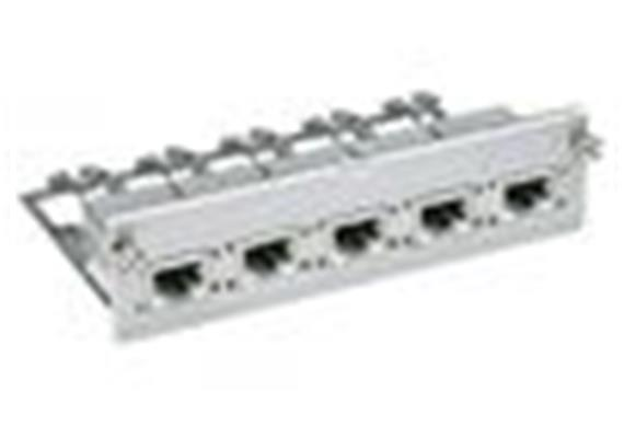 Rack 19 Universaleinheit 5xRJ45/s R925810