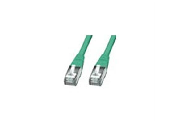 RJ45 Ka. 1m S/FTP grün K6 47047