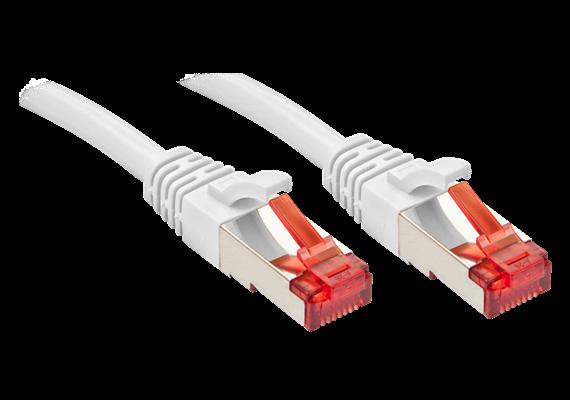 RJ45 Kabel 15m S/FTP weiss Kat. 6