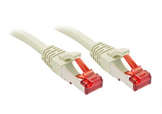 RJ45 Kabel 2m S/FTP grau K6