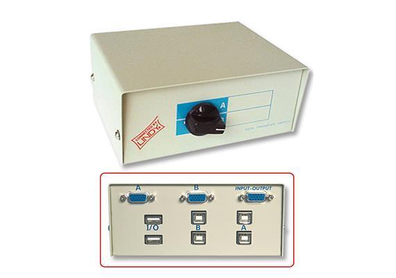 S-box Man KVM USB VGA/USB 32583