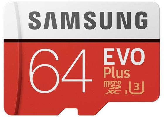 Samsung EVO microSDXC (64GB) U3
